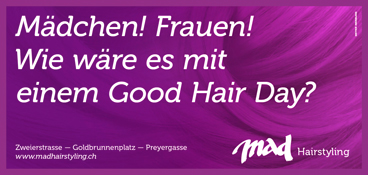 mad Hairstyling Good Hair Days / © Meyertext GmbH